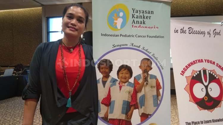 Uci Wijayanto Founder Jagannatha Yoga School Copyright: Zainal Hasan/INDOSPORT
