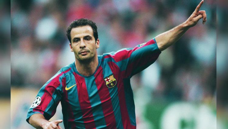 Ludovic Giuly, bintang Prancis yang sempat bersinar bersama Barcelona. Copyright: These Football Times