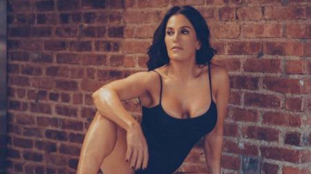 Jodi Harrison-Bauer, eks atlet binaragawan yang ingin jadi model pakaian renang. - INDOSPORT