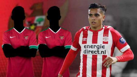 2 pemain Timnas Indonesia U-23 yang bakal terdepak jika Jaell Hattu dinaturalisasi. - INDOSPORT