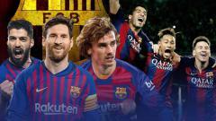 Indosport - Jika Neymar gabung ke Barcelona di bursa transfer musim panas, Barcelona akan punya trio MSG dan MSN.