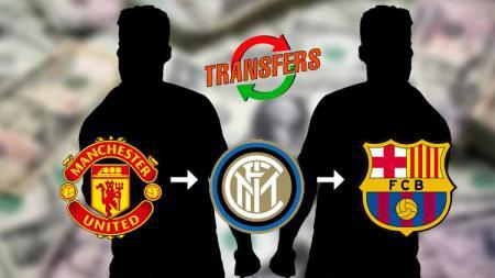 Konspirasi segitiga Konspirasi segitiga bursa transfer Inter, Man United hingga Barcelona Inter, Man United hingga Barcelona - INDOSPORT