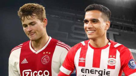 Frank van Doveren dan Matthijs de Ligt. - INDOSPORT