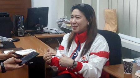 Susy Susanti sebagai perwakilan Persatuan Bulu Tangkis Indonesia (PBSI) menargetkan dua gelar di turnamen Indonesia Masters 2019 pada 1-6 Oktober mendatang. - INDOSPORT