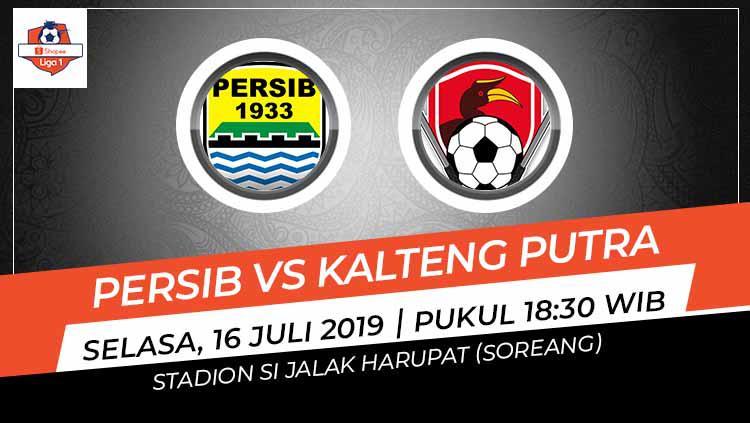 Pertandingan Persib Bandung vs Kalteng Putra. Copyright: Grafis: Indosport.com