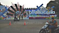 Indosport - Istora bersolek jelang Indonesia Open 2019. Foto: Herry Ibrahim/INDOSPORT