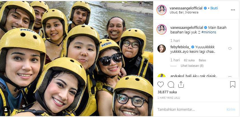 Ajak Netizen Olahraga Sambil Main Basah-basahan, Vanessa Angel Dianggap Makin Binal Copyright: Instagram @vanessaangelofficial