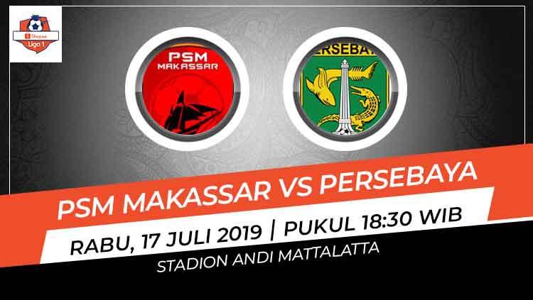 Prediksi PSM Makassar vs Persebaya Surabaya Copyright: INDOSPORT