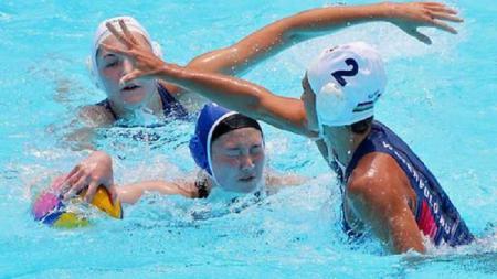 Tim polo air wanita Korea Selatan dipermalukan Hungaria di Kejuaraan Dunia. - INDOSPORT
