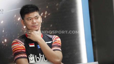 Praveen Jordan pada sesi jumpa pers top atlet nasional jelang Indonesia Open 2019, di Media Center Istora Senayan, Senin (15/07/19). Foto: Herry Ibrahim/INDOSPORT