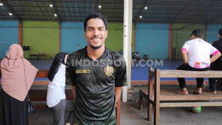 Marvin Alexa, pemain andalan Vamos Mataram sekaligus pemain seleksi Timnas Indonesia. Foto: Cosmas Bayu Agung Sadhewo/INDOSPORT - INDOSPORT