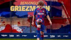 Indosport - Antoine Griezmann mulai menunjukkan skill dengan mencetak brace untuk Barcelona di pertandingan LaLiga Spanyol 2019/20, Senin (26/08/19) dini hari WIB.
