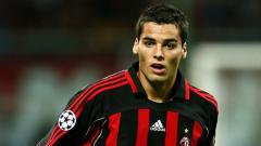 Indosport - Yoann Gourcuff, ketika masih membela AC Milan