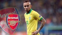 Indosport - Winger muda Timnas Brasil, Everton Sousa Soares, akan merapat ke Arsenal?