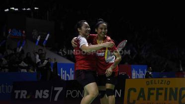 (GALERI FOTO) Bye Gronya! Pasangan Indonesia Sukses Kalah Australia di Indonesia Open 2019