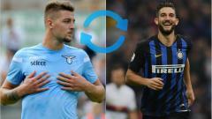 Indosport - Pertukaran Pemain Gagliardini dengan Milinkovic-Savic.