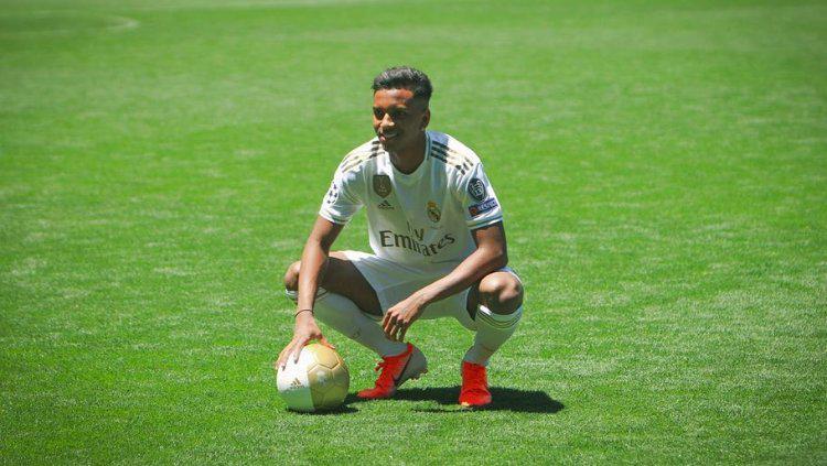 Rodrygo Goes resmi diperkenalkan oleh Real Madrid di bursa transfer musim panas. (Foto: instagram.com/rodrygogoes) Copyright: instagram.com/rodrygogoes