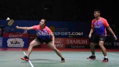 Indosport - Ganda campuran Indonesia, Praveen Jordan/Melati Daeva.