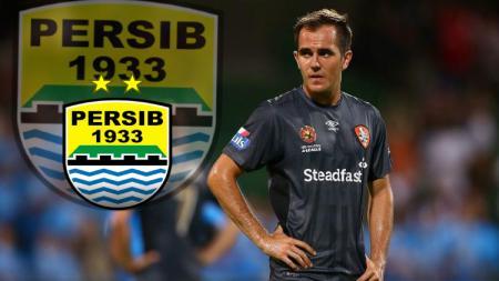 Steven Lustica, pemain asal Australia yang ingin gabung Persib Bandung di Liga 1. - INDOSPORT