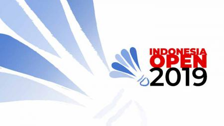 Logo Indonesia Open 2019 - INDOSPORT