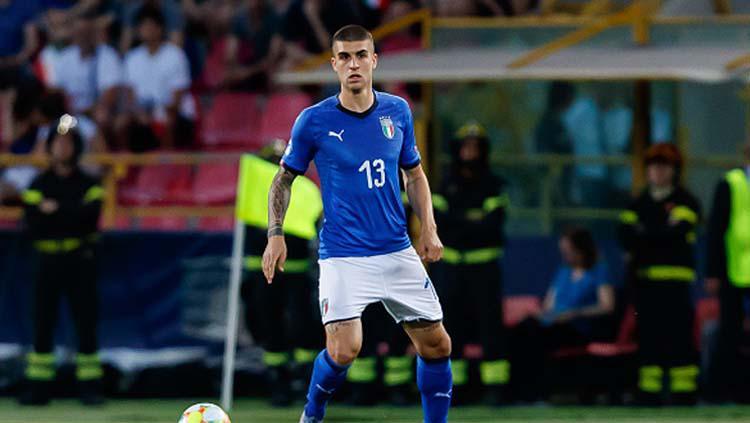Bek Timnas Italia, Gianluca Mancini dilaporkan segera merapat ke AS Roma Copyright: TF-Images/GettyImages