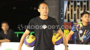 Pelatih Timnas 3x3 Indonesia, Anthony Gunawan. - INDOSPORT