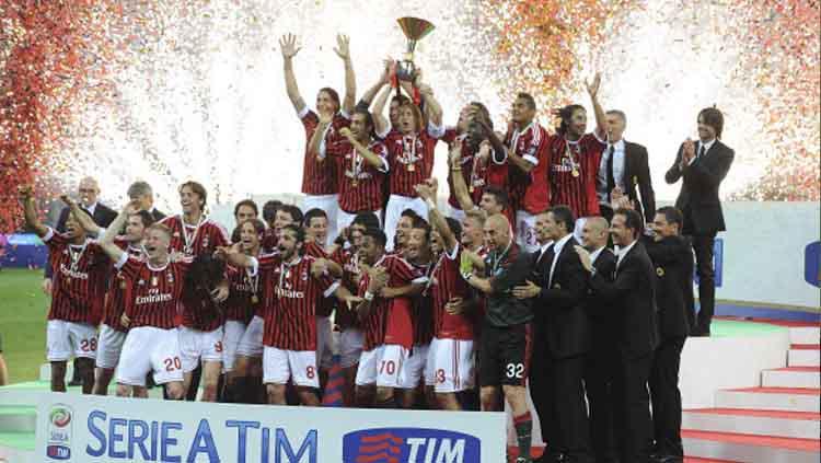 AC Milan terakhir juara Serie A Italia di tahun 2011 Copyright: Dino Panato/GettyImages