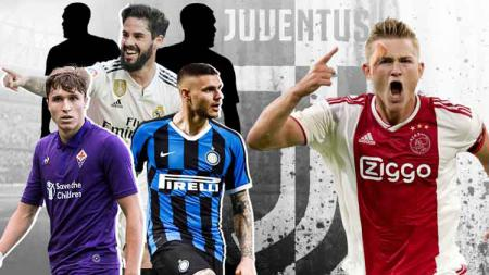Federico Chiesa, Mauro Icardi dan Isco bisa susul kedatangan Matthijs de Ligt ke Juventus. - INDOSPORT