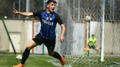 Indosport - Matteo Rover, penyerang muda Inter Milan yang dipinjamkan ke Serie C