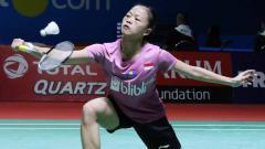 Indosport - Fitriani tersingkir di babak pertama China Open 2019.