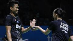 Indosport - Pasangan ganda campuran Indonesia, Tontowi Ahmad/Winny Oktavina Kandow, mendapat kritik pedas usai gagal di turnamen bulutangkis Japan Open 2019.