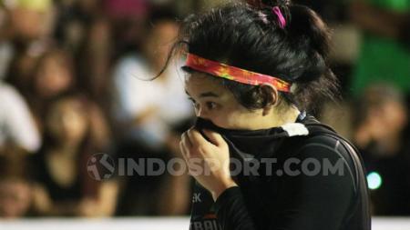 Pebasket asal Surabaya, Christine Aldora Tjundawan. Foto: Nofik Lukman Hakim/INDOSPORT - INDOSPORT