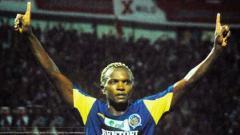 Indosport - Emaleu Serge, mantan bomber Arema Malang