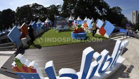 Di Zona Museum Indonesia Open 2019, pengunjung bisa melihat foto-foto mantan atlet bulutangkis terbaik Indonesia dan dunia. Foto: Herry Ibrahim/INDOSPORT
