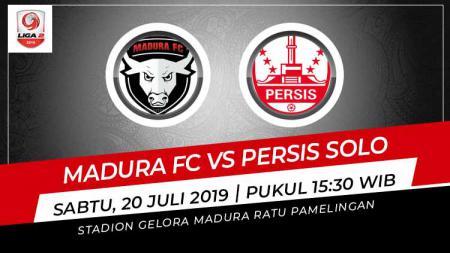 Pertandingan Madura FC vs Persis Solo. - INDOSPORT