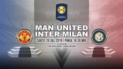 Indosport - Laga ICC yang mempertemukan Manchester United vs Inter Milan akan dimainkan pada Sabtu (20/7/19) pukul 18.30 WIB.