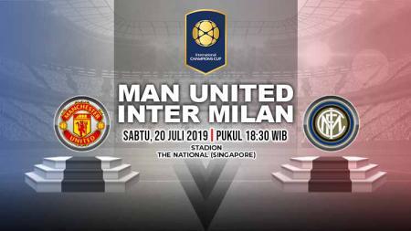 Laga ICC yang mempertemukan Manchester United vs Inter Milan akan dimainkan pada Sabtu (20/7/19) pukul 18.30 WIB. - INDOSPORT