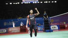 Indosport - Tunggal putra Indonesia, Jonatan Christie. Foto: Herry Ibrahim/INDOSPORT