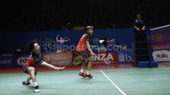 Indosport - Ganda putra Indonesia, Kevin Sanjaya Sukamuljo/Marcus Fernaldi Gideon. Foto: Herry Ibrahim/INDOSPORT