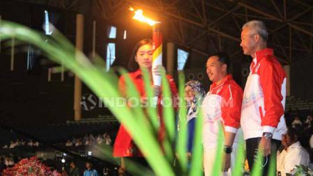 Acara pembukaan ASEAN School Games 2019. Foto: Alvin Syaptia Pratama/INDOSPORT - INDOSPORT