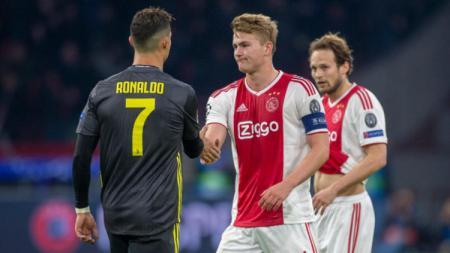 Cristiano Ronaldo dan Matthijs de Ligt siap jadi tumpuan Juventus musim depan - INDOSPORT