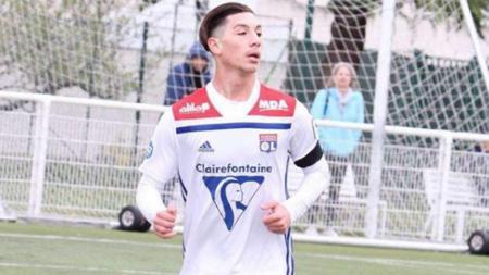Florent Da Silva, pemain muda Lyon bidikan Man United. - INDOSPORT