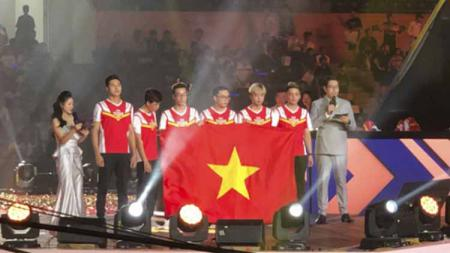 Vietnam Juara AOV World Cup 2019. Foto: twitter@ArenaofValor - INDOSPORT