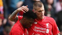 Indosport - Daniel Sturridge dan Martin Skrtel semasa masih membela Liverpool