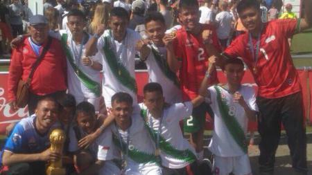 Tim Soina Indonesia Saat Raih Spesial Gothia Cup - INDOSPORT