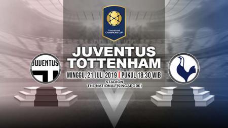 Prediksi Juventus vs Tottenham Hotspur. - INDOSPORT