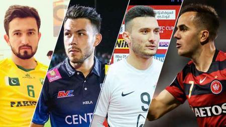 Steven Lustica, Suleyman Muhadov, Kayne Vincent, dan Saadullah Khan, semua pemain asing ini dikaitkan ke Persib Bandung. - INDOSPORT