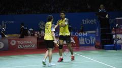 Indosport - Pasangan Tontowi Ahmad/Winny mengalami kenaikan ranking di BWF. Foto: Herry Ibrahim/INDOSPORT