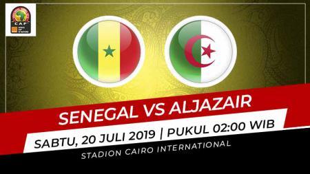Pertandingan Senegal vs Aljazair. - INDOSPORT