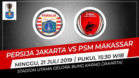 Pertandingan Persija Jakarta vs PSM Makassar. - INDOSPORT